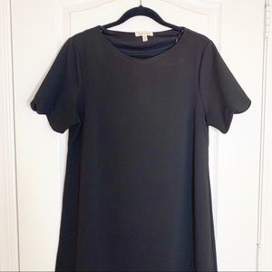 Monteau | Scallop Hem Cocktail Dress